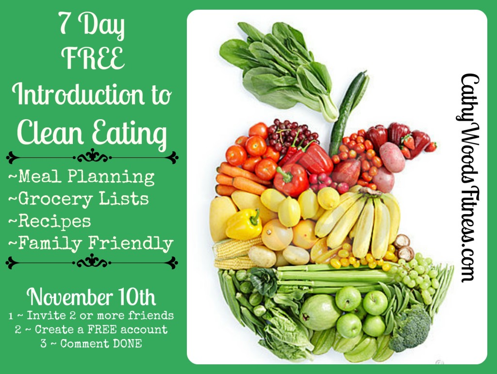 7 Day free clean eating group