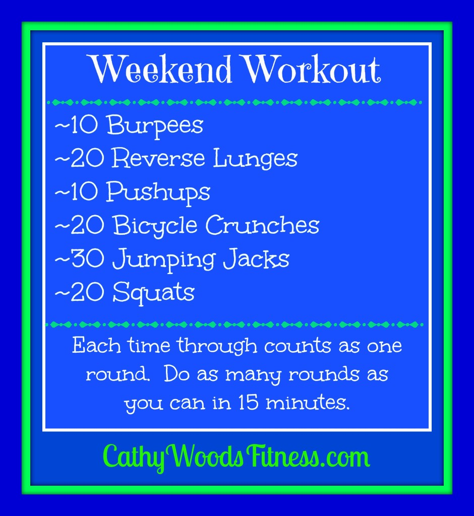 Weekend Workout
