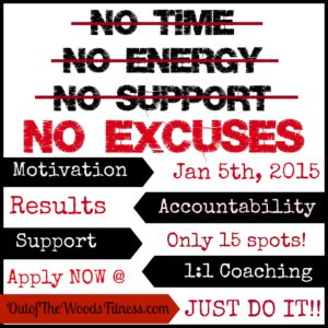 No Excuses New Year