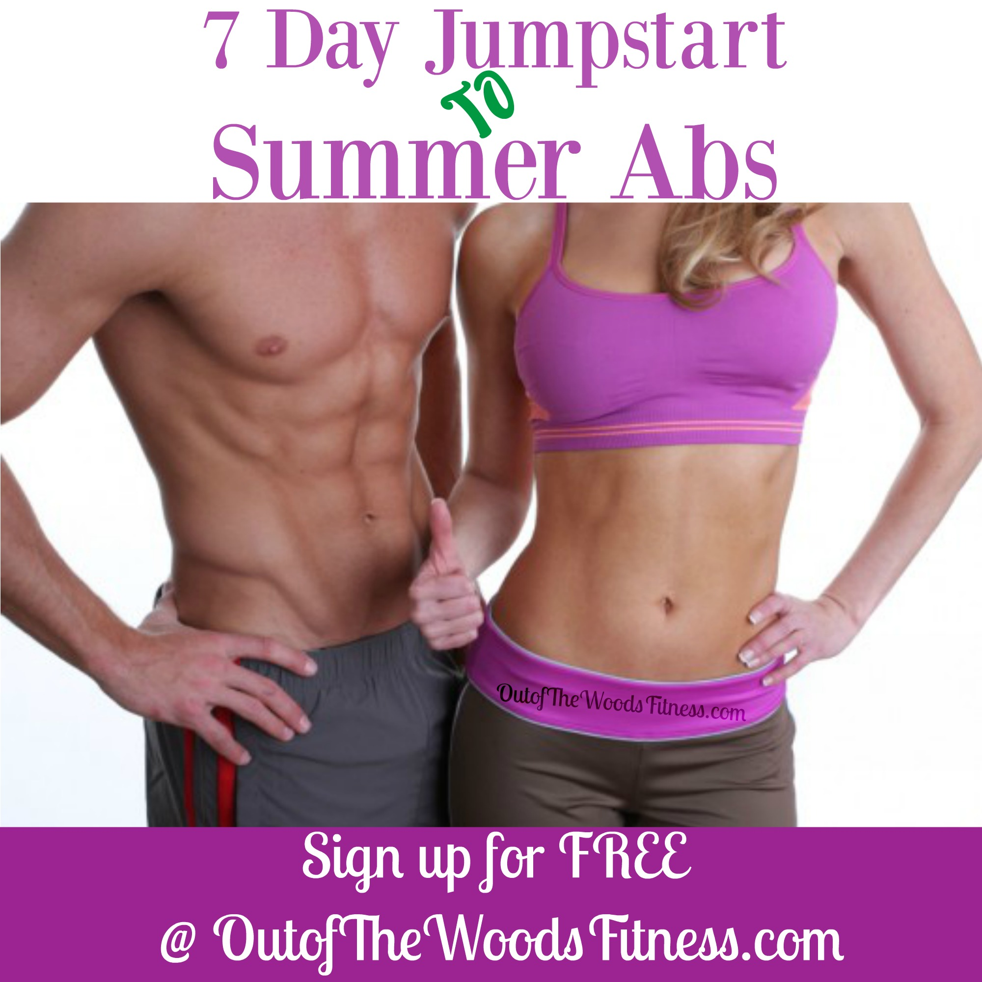 7 Day abs free challenge