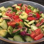 Summer Mexican Avocado Salad!
