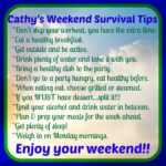 Tips To Survive The Weekend